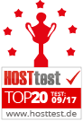 Hosttest Top20 09/2017